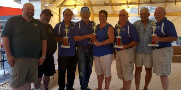 Bocce Tournament winners