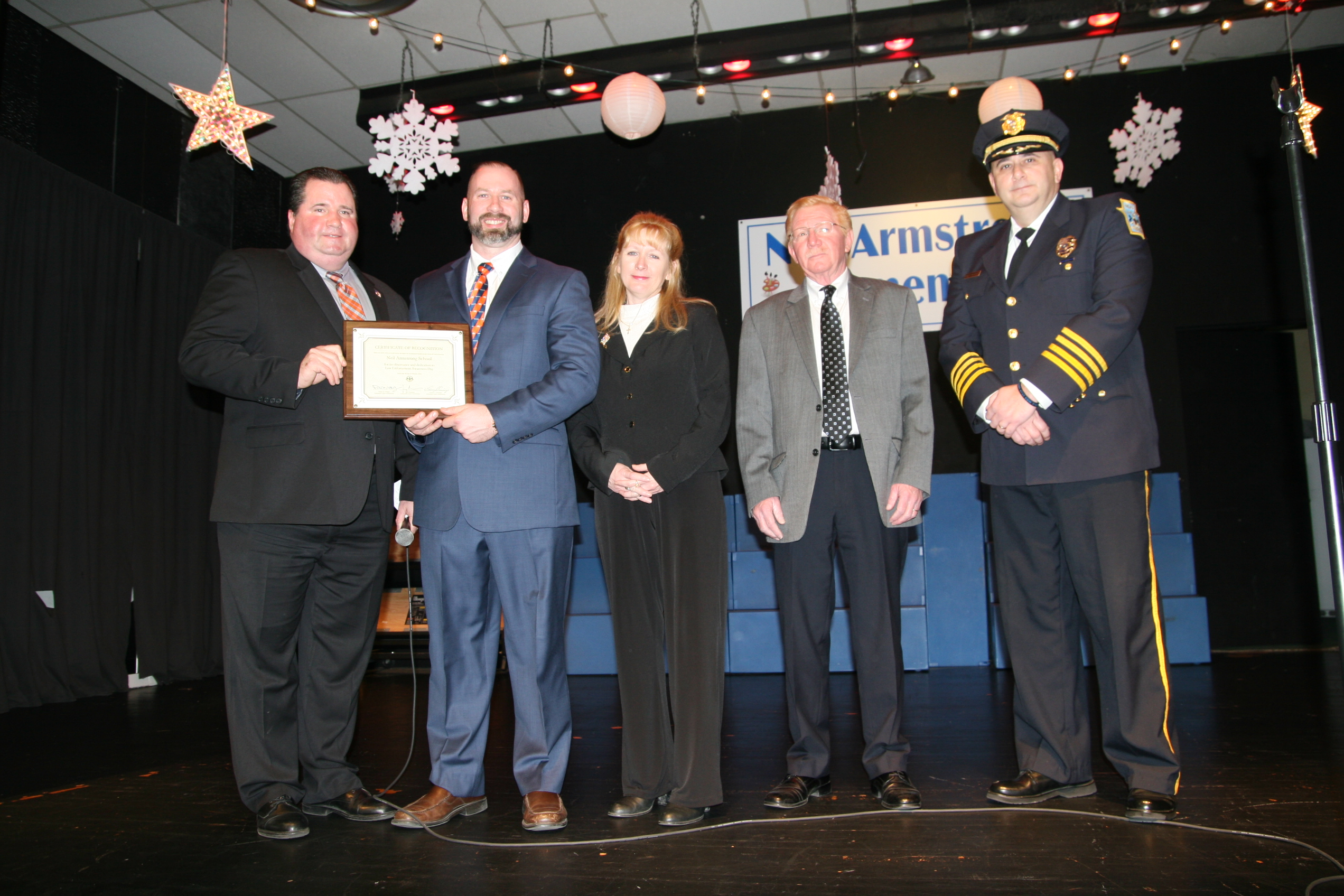 Neil Armstrong School receives Certificate of Recognition ...