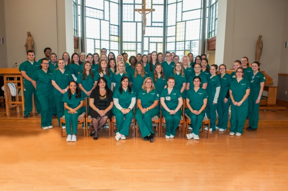 Marywood Nursing Students