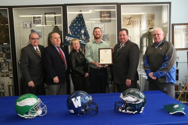 Matt McGloin proclamation photo