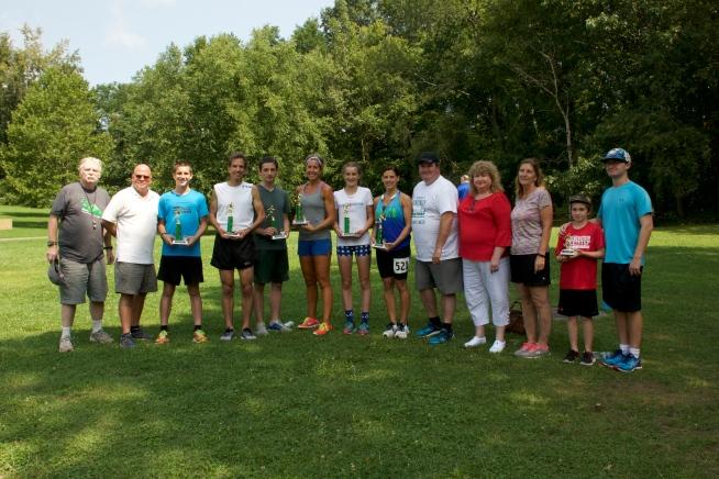 Cancer race winners