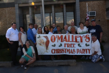 O'Malley Christmas party