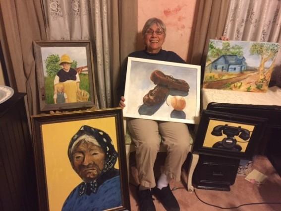 Artist of the Month - Rosemarie Quinn