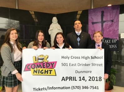 Holy Cross comedy night