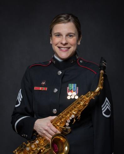 Saxophonist Stacy Wilson,