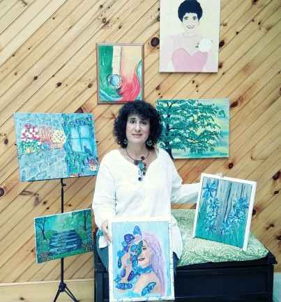 artist of the month - Donna Marie Boland